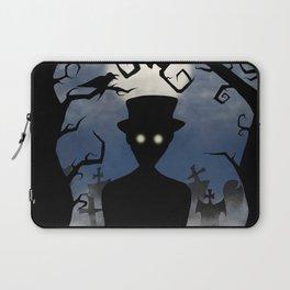 Moonlight Cemetery Laptop Sleeve