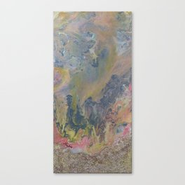 Day at the Beach Marble Canvas Print