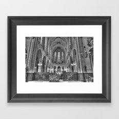 Chiesa Saint Germain l'Auxerrois Framed Art Print