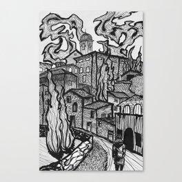 Assisi Canvas Print