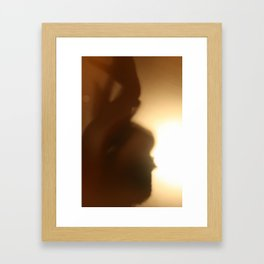 'Untitled 11' - Body language series. Framed Art Print