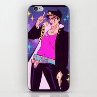 jjba iPhone & iPod Skins featuring Jotaro Kujo by Sara Kipin