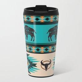 American Native Pattern No. 60 Travel Mug