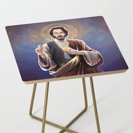 Saint Keanu of Reeves Side Table