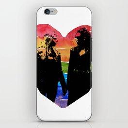 Clexa Silhouette iPhone Skin