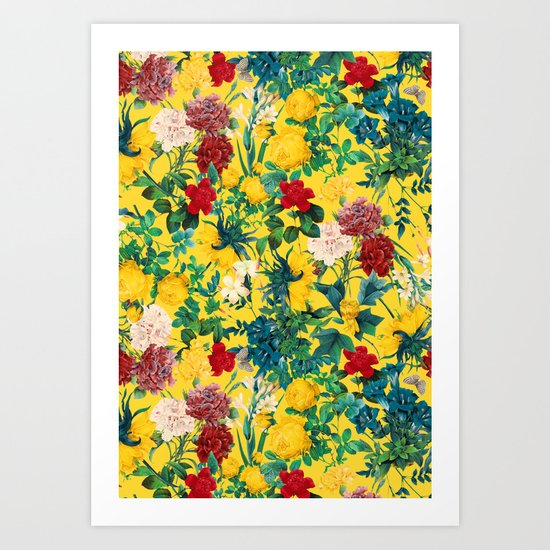 Fertile Forest Art Print