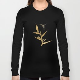 Hummingbird & Flower II Long Sleeve T-shirt