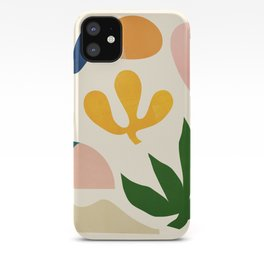 Abstraction_Floral_001 iPhone Case