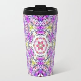 Purple Flower Bouquet Travel Mug