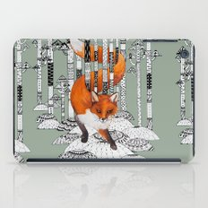 Fox Forest iPad Case