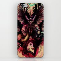 totem iPhone & iPod Skins featuring Totem by Gavin Ho