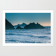 On a Saturday in Pacifica... Art Print