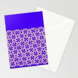 tie dye yellow flower Stationery Cards
