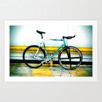 bike fixed Art Print