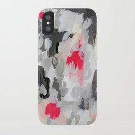 No. 70 Modern Abstract Painting iPhone Case