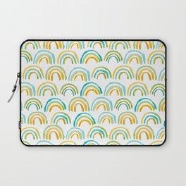 Bowed Pattern - Green Colorway Laptop Sleeve
