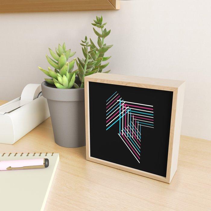 Transcend Patchwork Framed Mini Art Print