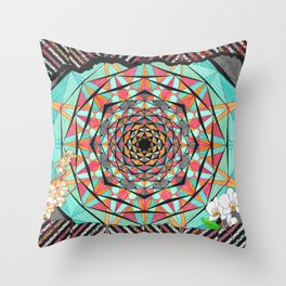 Transformations (color variation) Throw Pillow