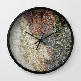 Tree bark 1 natural pattern Wall Clock