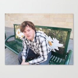 Brock Wilbur September Bench Canvas Print