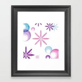 Groovy Chic Framed Art Print