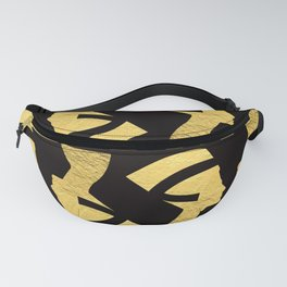 -BEQUEEN IN GOLD Fanny Pack