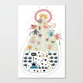 HollyWar Canvas Print