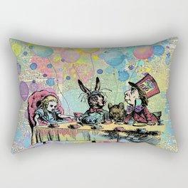 Tea Party Celebration - Alice In Wonderland Rectangular Pillow