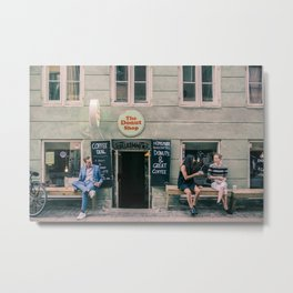 The Donut Shop, Copenhagen, Denmark Metal Print