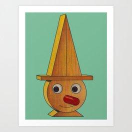 Deedle-Dum Art Print