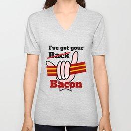 Bacon Unisex V-Neck