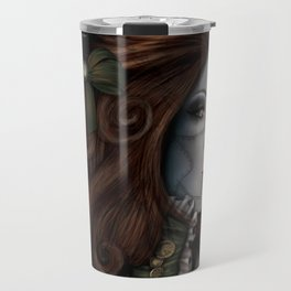 Victorian Droid Travel Mug