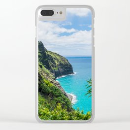 Na Pali Coast Clear iPhone Case