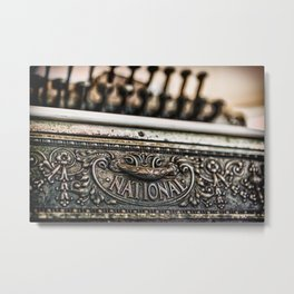 National Cash Metal Print