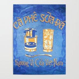 Vietnamese Coffee Ad Poster