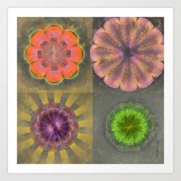 Aetiogenic Actuality Flower  ID:16165-013140-25800 Art Print