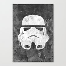 White Stormtrooper Canvas Print