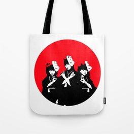 Japanese Metal Girls Tote Bag