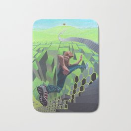 Conquest of reality Bath Mat