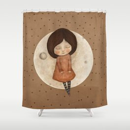 Moon Song 3 Shower Curtain