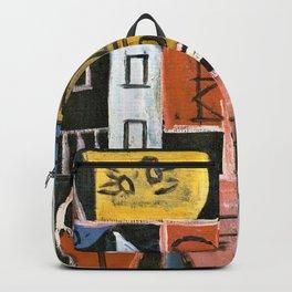 Constructive Painting 1932 - Joaquin Torres Garcia Backpack