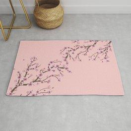 Cherry Blossom Branch Rug