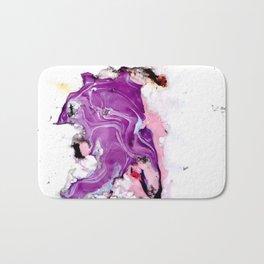 purple splurge Bath Mat