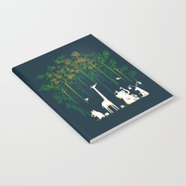Re-paint the Forest Notebook