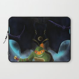 Michelangelo And Shinigami Laptop Sleeve