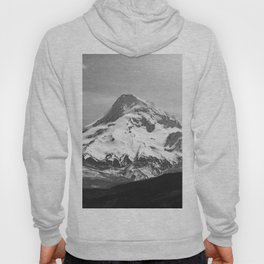 Black and White Mountain Adventure - 85/365 Nature Photography Hoody