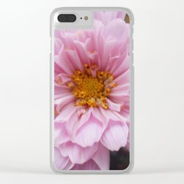 Pink Frills Clear iPhone Case