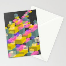 Cubes #2 Stationery Cards