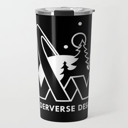 Wilderverse Design Logo Travel Mug