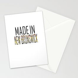 Made In New Brunswick Stationery Cards